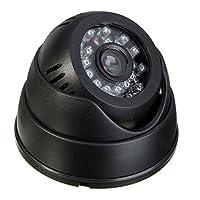 ドーム型小型防犯カメラ microSDカード記録式でレコーダー不要 USB給電式 24灯赤外線LED搭載 上書き録画機能 FMTK802