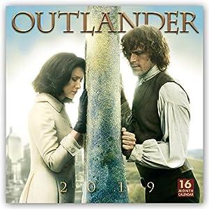 Outlander 2019-18-Monatskalender: Original BrownTrout-Kalender
