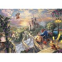 2000ピース ジグソーパズル 美女と野獣 Beauty and the Beast Falling in Love(73x102cm)
