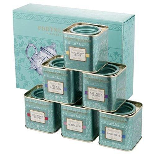 & MASON(フォートナム&メイソン) 6種類の香りと風味 フォートナム&メイソン フェイマスティー 6缶 セット(各25g缶入り×6缶) Fortnum & Mason