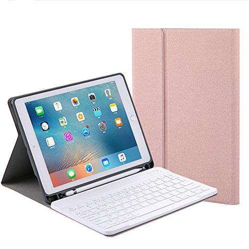 ApplePencil収納可能 2018新型 iPad6 iPad5 iPadPro9.7 iPadAir/Air2 キーボード ケース 7色バックライト付き iPadPro10.5 アイパッド6 ケース カバー 2018 iPad9.7インチ iPad5
