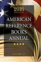 American Reference Books Annual 2016