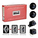 MiCarBa 360度パノラマレコーダー1080 PスーパーHD 360度サラウンドバードビューシステムパノラマビューカーカメラ4-CH DVRレコーダーGセンサー付きDVRクアッドコアCPU