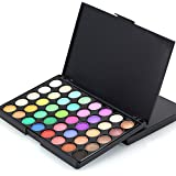 40色化粧品パウダーアイシャドーパレットメイクアップセットマットB利用可能