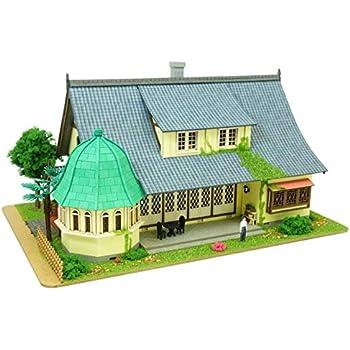 さんけい スタジオジブリシリーズ 1/150 借りぐらしのアリエッティ アリエッティの住む屋敷 ペーパークラフト MP07-36