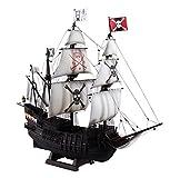 青島文化教材社 1/100 大型帆船 No.12 海賊船 プラモデル