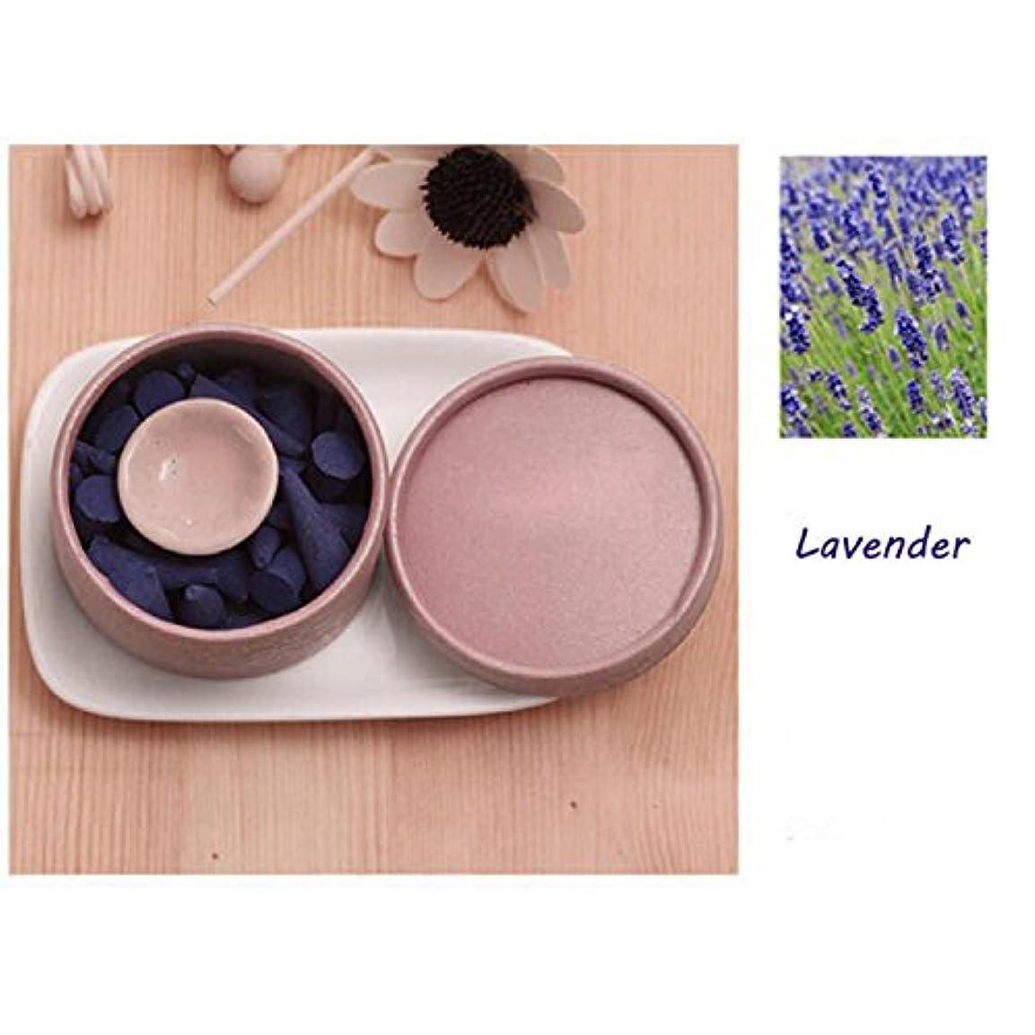 個性創始者品種ThinIce 天然インセンスコーン ラベンダーサンダルウッド ローズの香り タワー香り グリーン