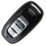 アウディ Audi A4 A6 A5 A7 A8 Q5 リモコン キー ケース (黒)