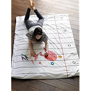 eatsleepdoodle [イートスリープドゥードゥル] doodle duvet/single 布団カバー(ノートブック) dv-dds