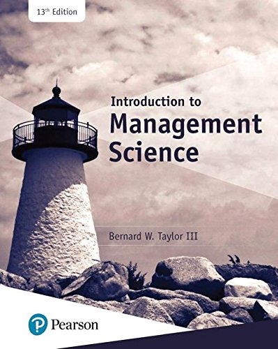 hiller introduction to management science solution Introduction to management science with student cd and risk solver platform access card: a modeling and cases studies approach with spreadsheets [frederick s hillier, mark s hillier] on amazoncom free shipping on qualifying offers.