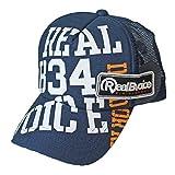 (リアルビーボイス) RealBvoice メッシュ キャップ 10021-10035 (NV:ネイビー)