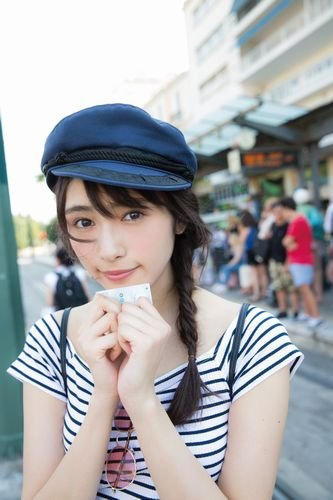 欅坂46 渡辺梨加 1st写真集 『タイトル未定』