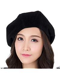 6842059af8112d Amazon.co.jp: L - ベレー帽 / 帽子: 服&ファッション小物