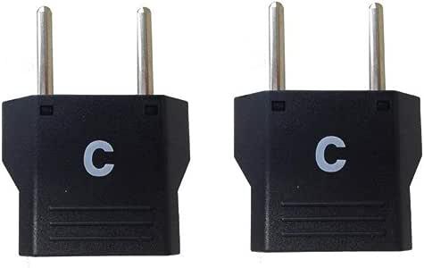 カシムラ 海外用変換プラグ Cタイプ 2個セット NTI-157
