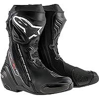 Alpinestars アルパインスターズ Supertech R スーパーテック ブーツ ベンテッド黒/EU45 [並行輸入品]