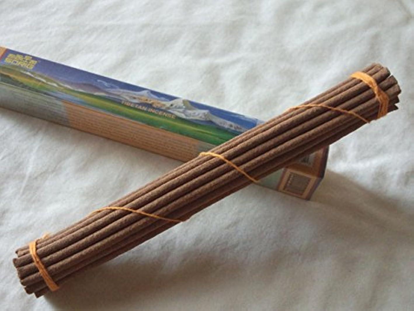 偽バス成功したMen-Tsee-Khang/メンツィカンのお香-シングル SORIG Tibetan Incense small 約20本入