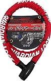 OSS ( 大阪繊維資材 ) ワイヤーロック GUARDIAN LOCK ハードワイヤー・ビッグ Red HWB-1800