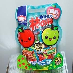 長野限定亀田の柿の種赤りんご&青りんご風味