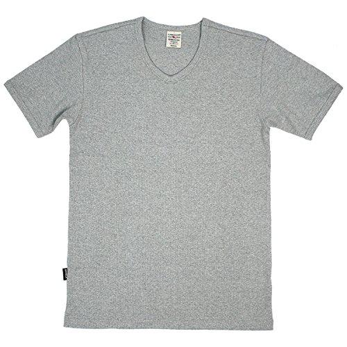 XL GREY(14) アビレックス AVIREX デイリー Vネック 半袖 Tシャツ
