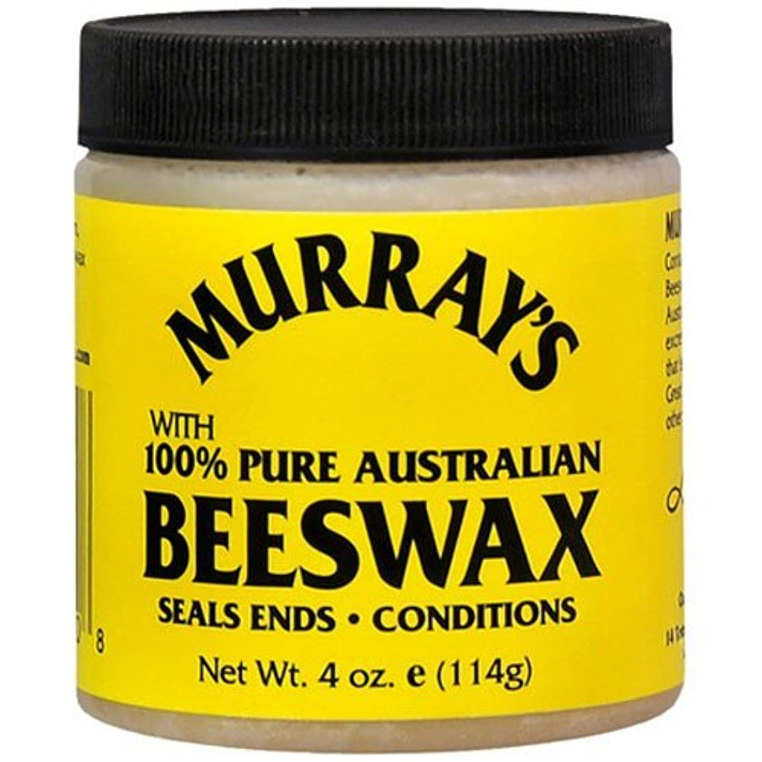 戦艦脱走黒人Murrays マレー'S黄色蜜蝋、4オンス(3パック)