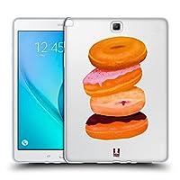 Head Case Designs ドーナツ パーソナリティ・スタック ソフトジェルケース Samsung Galaxy Tab A 9.7