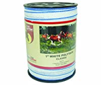 Field Guardian Classic Polytape, 1-Inch, White by Field Guardian