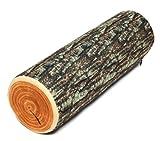 LifeStyle クッション 丸太型 枕 木目 Log Pillow