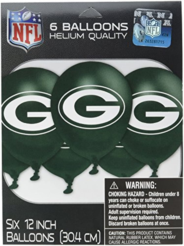 (Green) - Amscan MLB Green Bay Packers Party Team Logo Balloon Decoration