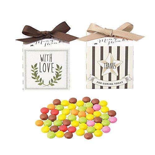 Joy box(ミニマーブルチョコ)(10個セット)【10月~4月限定】 プチギフト お菓子 結婚式 披露宴 2次会
