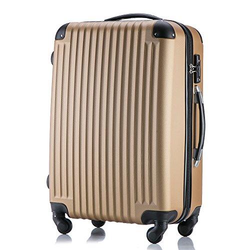 (トラベルデパート) 超軽量スーツケース TSAロック付(S...