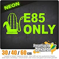 E85 only - 3つのサイズで利用できます 15色 - ネオン+クロム! ステッカービニールオートバイ