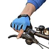 ROCKBROS(ロックブロス) サイクリング 手袋 ハーフフィンガー グローブ スポーツ 手袋(,L)