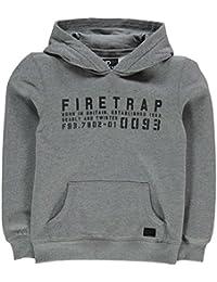 Firetrap グラフィックプルオーバー パーカーボーイズ