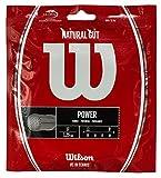 ウイルソン(Wilson) テニスガット ナチュラル 17 単張りガット WRZ999900 0 0