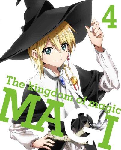 マギ The kingdom of magic 4(イベントチケット優先販売申込券付)(完全生産限定版) [DVD]