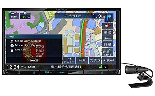 ケンウッド(KENWOOD) カーナビ 彩速ナビ MDV-D404BT ワンセグTVチューナー/Bluetooth内蔵 DVD/USB/SD AVナビゲーションシステム