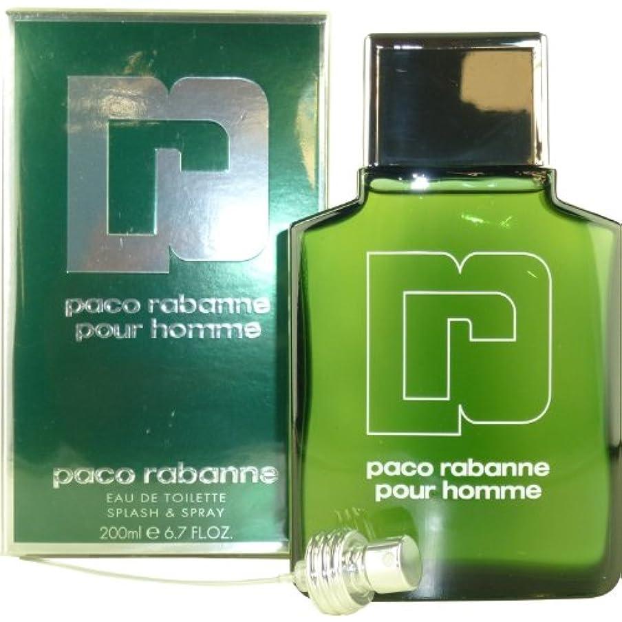 造船にんじん膨らませるPaco Rabanne PACO RABANNE POUR HOMME - 200 ml / Eau De Toilette Vaporisateur