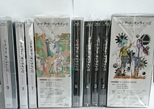 ソードアート・オンラインII 【完全生産限定版】全9巻セット [マーケットプレイス Blu-rayセット]
