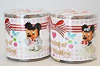 [東京ディズニーResort ]ナノブロックウェディングミッキー& Minnie
