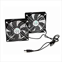 TIMELY 2連USBファン BIGFAN120U for Men Stereo BIGFAN120U-STEREO