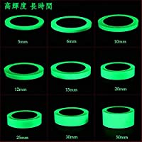 蓄光テープ 高輝度 3M 長時間発光 自転車 階段蛍光テープ (幅20mm,3M)