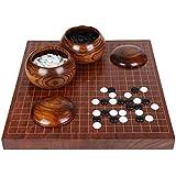 LWT 、純木大人および子供の初心者の古典的なチェス盤New Yunzi (色 : A)