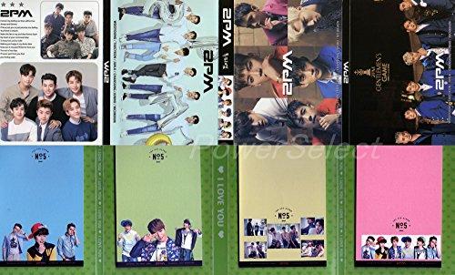 2PM 【メモ帳 80枚セット】 折りたたみ式 写真入りメモパッド
