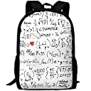 数学 方程式 バックパック リュックサック ナップザック 多機能バッグ ショルダーバッグ ピクニック 大容量