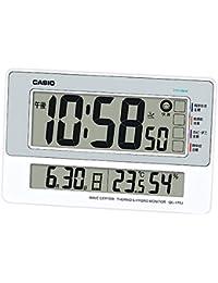 デジタル生活環境お知らせ電波置き掛け兼用時計 日付表示 温・湿度表示付 IDL-170J-8JF