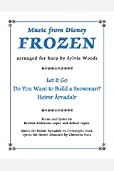 Frozen - Music From the Disney Motion Picture Arranged for Harp Paperback