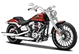 マイスト Maisto 1/12 ハーレー ダビッドソン Harley Davidson 2014 CVO BREAKOUT 32327 完成品 ブレイクアウト レッド [並行輸入品]