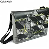 ck Calvin Klein(カルバンクライン) ショルダーバッグ グレー黒黄 メンズ ブランドバッグ 父の日ギフト /ck7026 [並行輸入品]