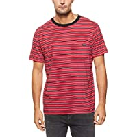 Wrangler Men's Every Street TEE RED Stripe