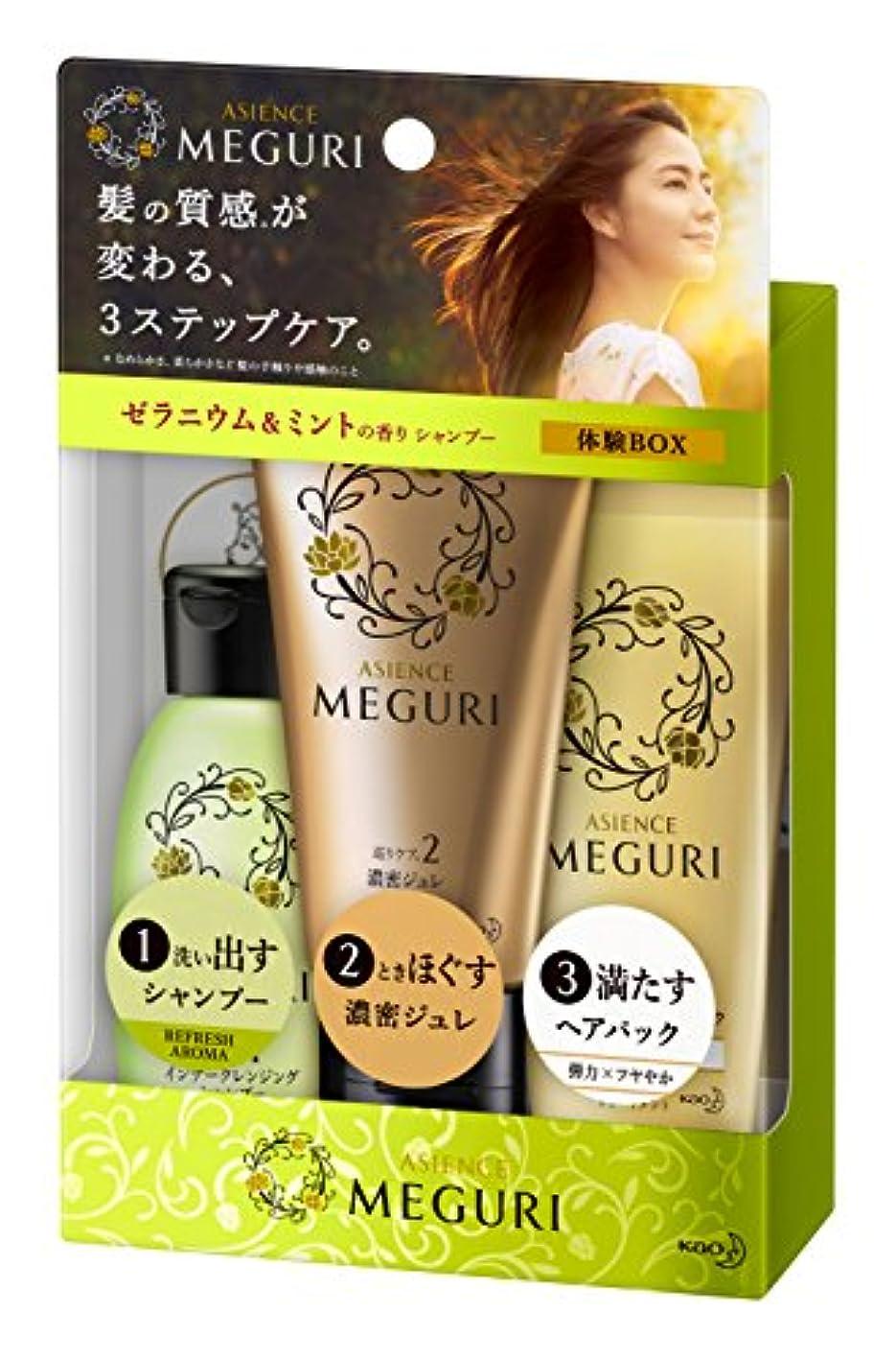 履歴書模索ボトル【ミニセット】アジエンス MEGURI 体験BOX REFRESH 145g